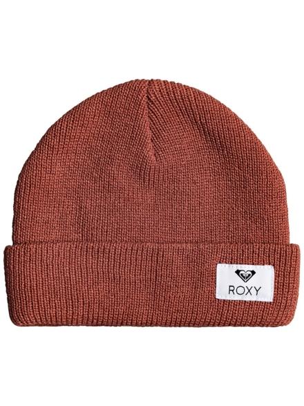 Roxy Island Fox Beanie bruin