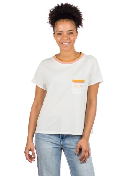 Roxy Broken Lines T-Shirt wit