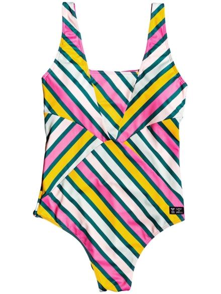 Roxy Pop Surf Swimsuit grijs