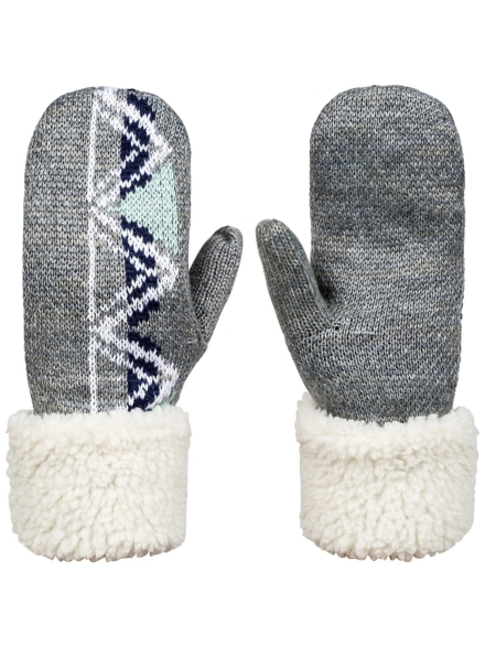 Roxy Lizzie Mitten handschoenen grijs