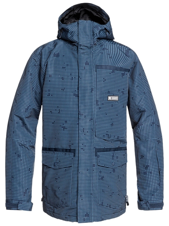 DC Servo Ski jas blauw