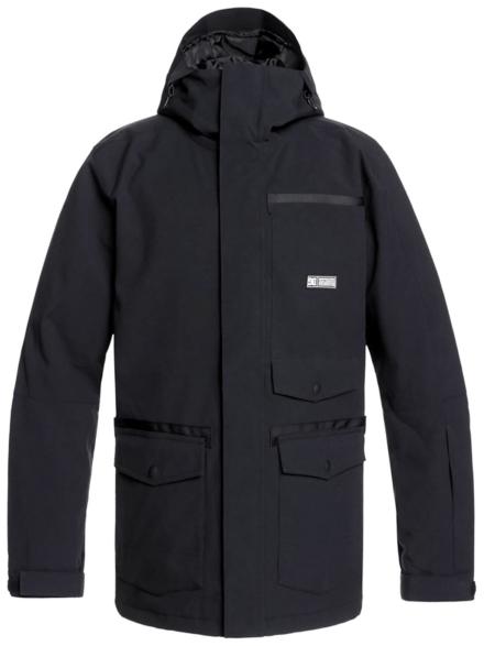 DC Servo Ski jas zwart