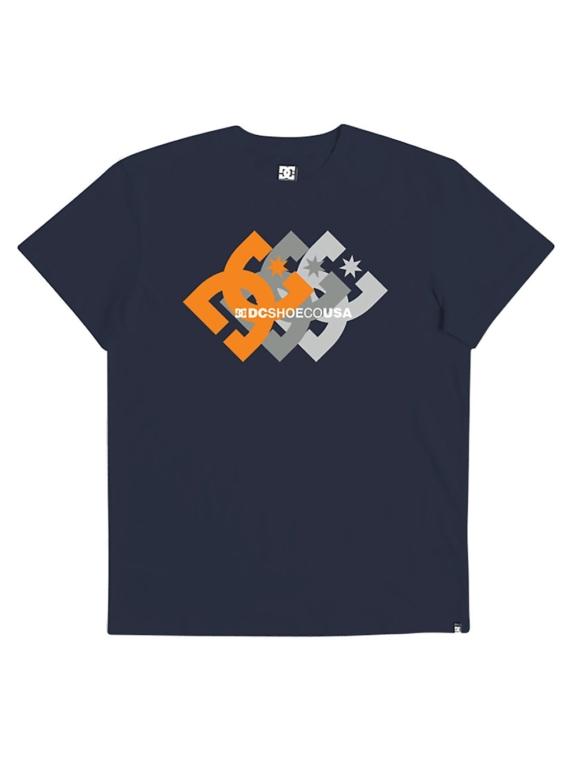 DC Logo Ballad T-Shirt zwart