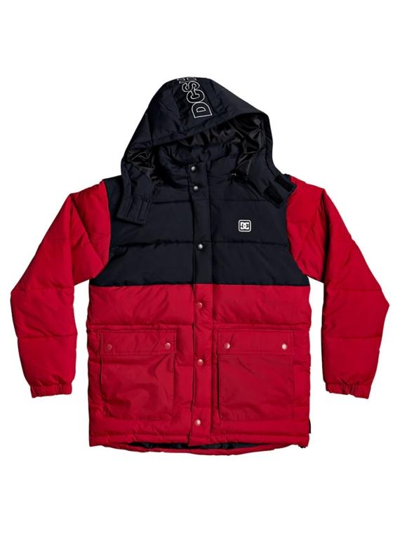DC Straffen Ski jas rood