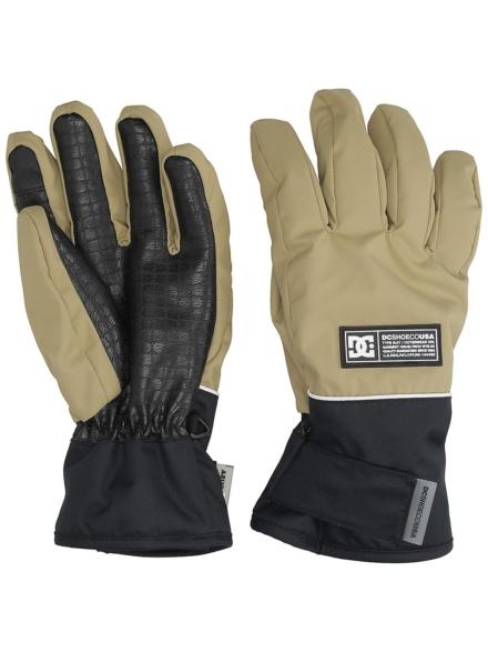 DC Franchise handschoenen bruin
