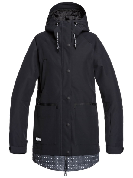 DC Riji Ski jas zwart