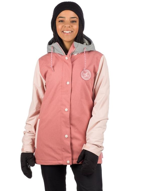 DC DCLA Ski jas roze