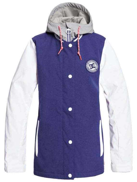 DC Dcla Ski jas blauw