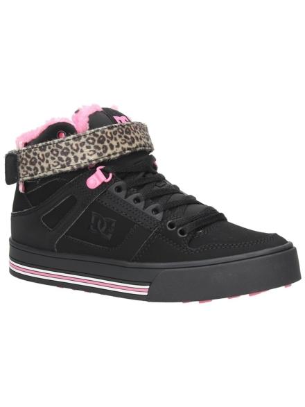 DC Pure High-Top V schoenen zwart