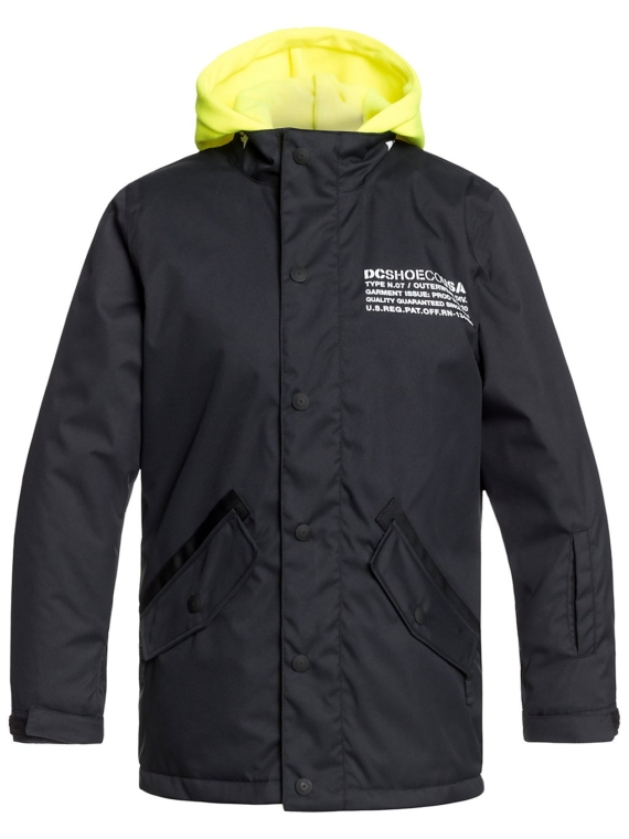 DC Union Ski jas zwart