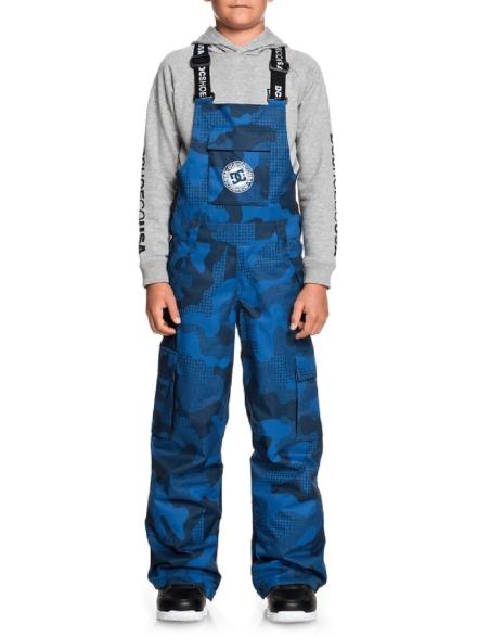 DC Banshee Bib broek blauw