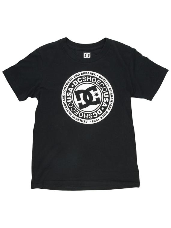 DC Circle Star T-Shirt zwart