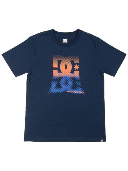DC Logo Reflect T-Shirt blauw