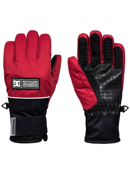 DC Franchise handschoenen rood