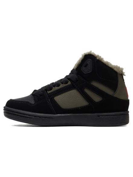 DC Pure HT Wnt Sneakers zwart