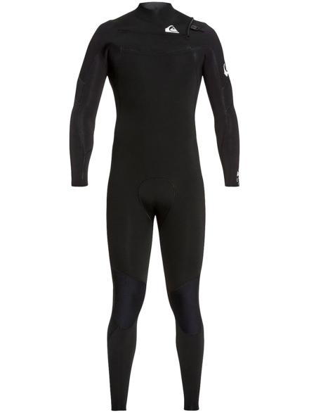 Quiksilver Syncro 3/2 Chest Zip GBS Wetsuit zwart
