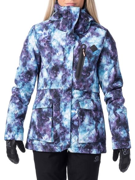 Rip Curl Particle Ski jas blauw