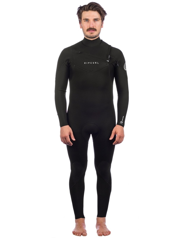 Rip Curl Dawn Patrol Chest Zip 3/2 GB Wetsuit zwart