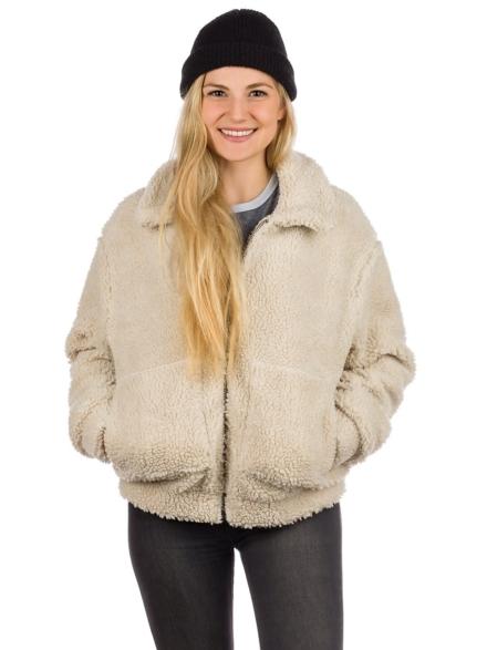 Rip Curl Sea View Zip Thru Polar Fleece Ski jas wit