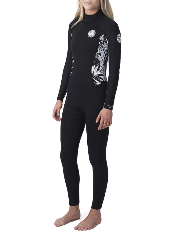 Rip Curl Dawn Patrol 5/3 Gb Back Zip zwart
