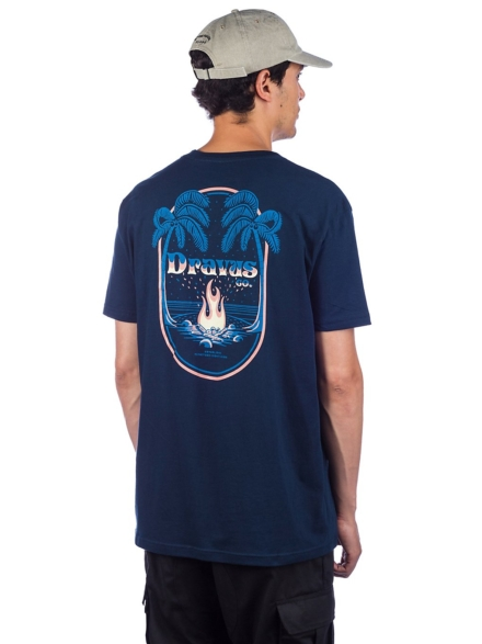 Dravus Worcation T-Shirt blauw