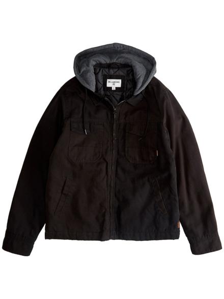 Billabong Barlow Twill Ski jas zwart
