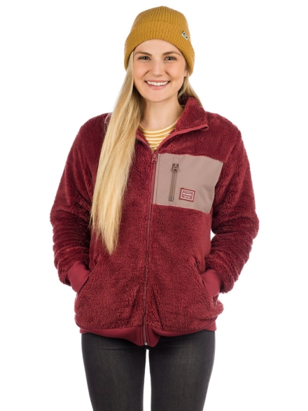 Billabong Passeport Sherpa Fleece Ski jas paars