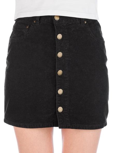 Billabong Good Life Cord Skirt zwart