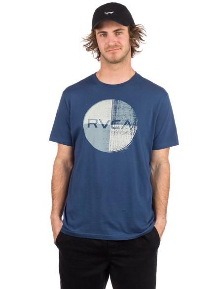 RVCA Logo Pack T-Shirt blauw