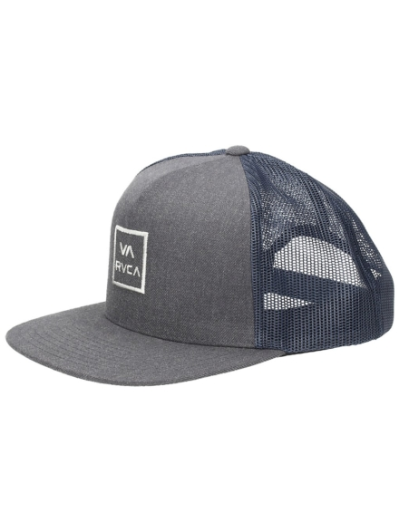 RVCA Va All The Way Trucker petje grijs