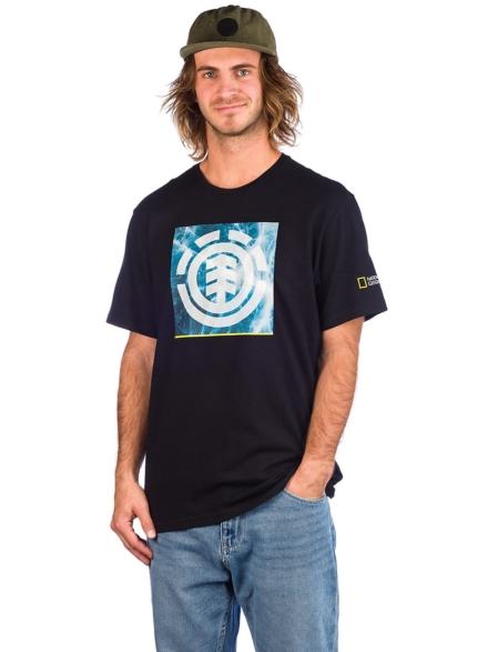 Element Solvent Icon T-Shirt zwart