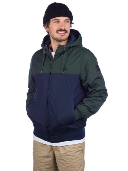 Element Dulcey 2 Tones Ski jas groen