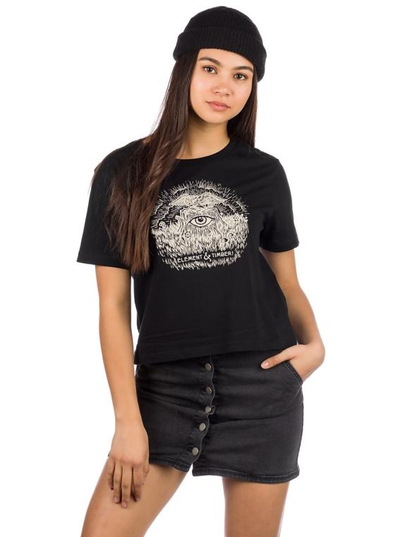 Element Timber Crop T-Shirt zwart