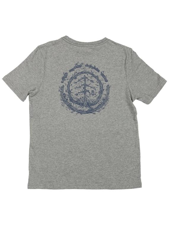 Element Too Late Logo T-Shirt grijs