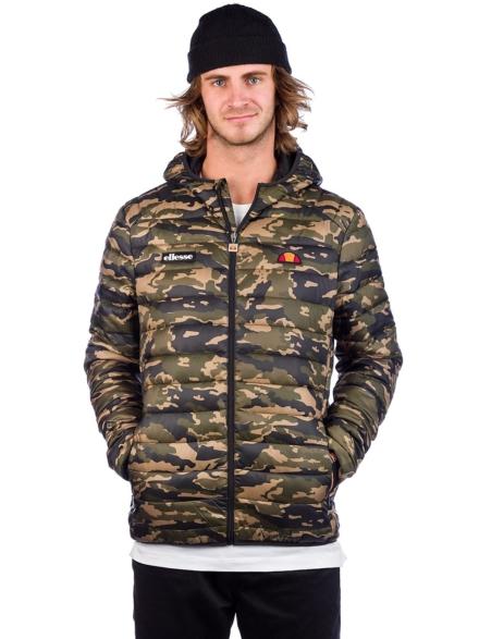 Ellesse Lombardy Padded Ski jas camouflage