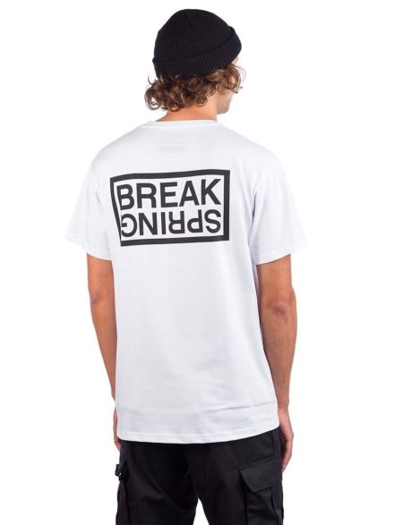 petjeita SB Kooks Pocket T-Shirt wit