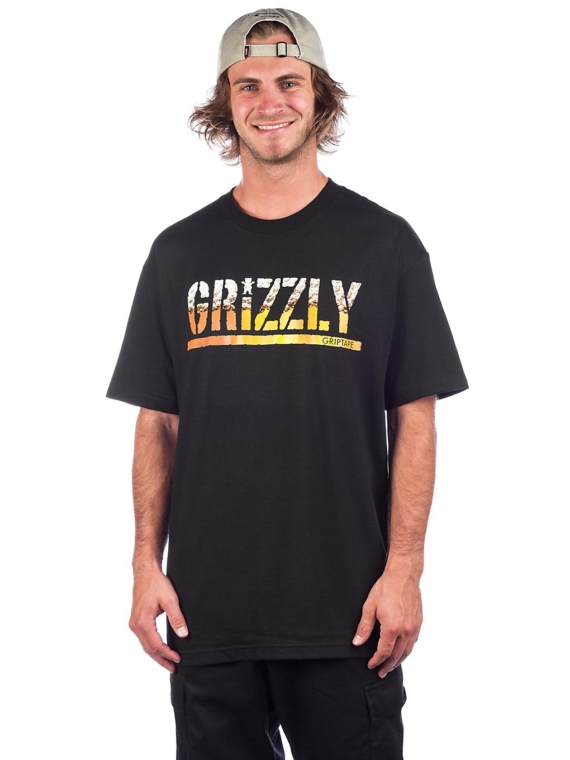 Grizzly Brew T-Shirt zwart