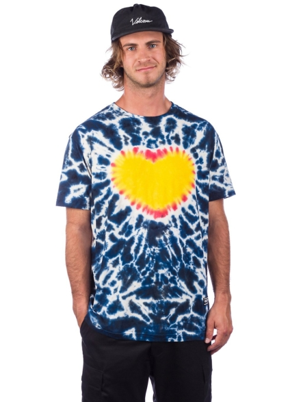 Grizzly Home Grown T-Shirt blauw