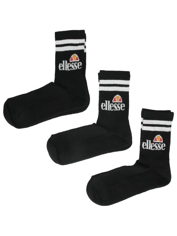 Ellesse Pullo 3 Pack skisokken (6 8.5 ) zwart