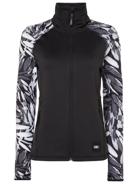 O'Neill Printed Fleece Pullover zwart