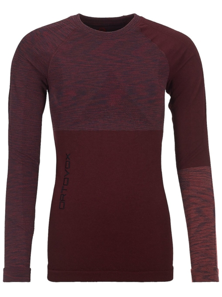 Ortovox Merino Comp Tech t-shirt met lange mouwen rood