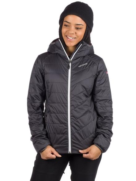Ortovox Swisswool Piz Bernina Ski jas zwart