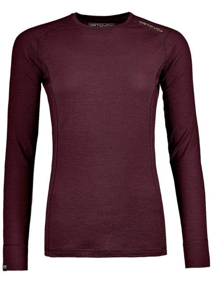 Ortovox 145 Ultra Tech t-shirt met lange mouwen rood