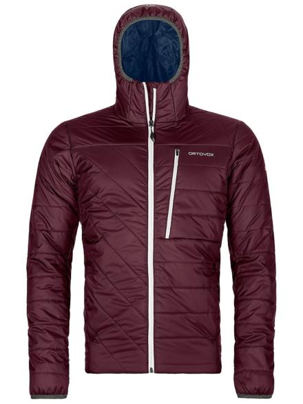 Ortovox Swisswool Piz Bianco Ski jas rood
