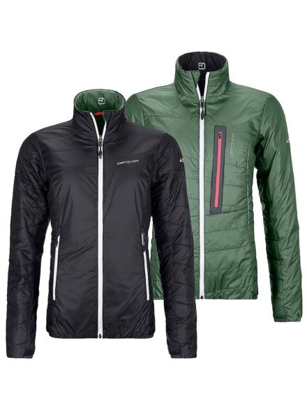 Ortovox Swisswool Piz Bial Insulator Ski jas zwart