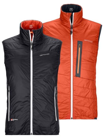 Ortovox Swisswool Piz Cartas Insulator Vest zwart