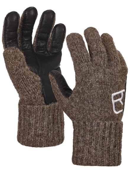 Ortovox SW Classic lederen handschoenen zwart