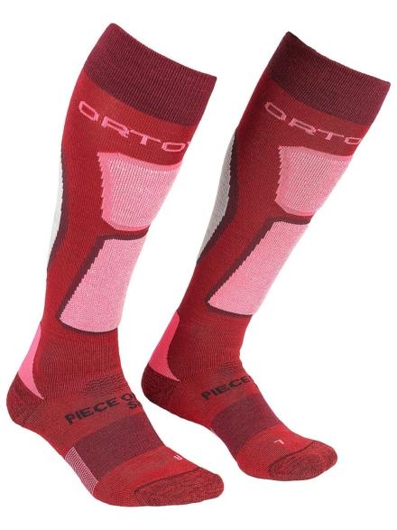 Ortovox Ski Rock' n' Wool Tech skisokken rood