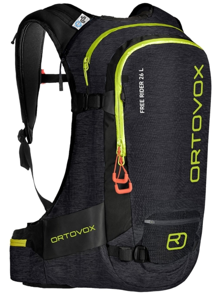 Ortovox Free Rider 26 L rugtas zwart