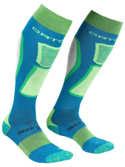 Ortovox Ski Rock' n' Wool Tech skisokken blauw